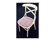 Деревянный венский стул Римио с мягким сиденьем фото
