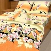 Ткань постельная Бязь 125 гр/м2 220 см Набивная Цветник 2698-2/S843 TDT фото