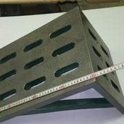 Плита поверочная угловая чугунная 300х400 фото