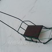 Санки детские Вихрь- 3 Люкс(с толкателем) фото