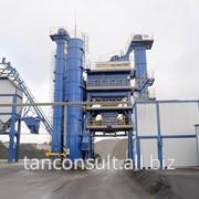 Асфальтные стационарные заводы (48, 64, 80, 96, 120, 160 и 240 тонн в час) фото