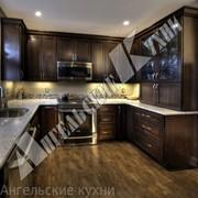Кухня из натурального дуба арт. КД061 фото