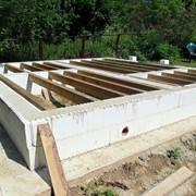 Утепленный фундамент под дом фото