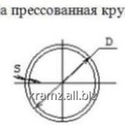 Труба прессованная круглая шифр профиля: 01/0312 D, мм 75 S, мм 2 фото
