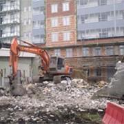 Подготовка строительных площадок фото