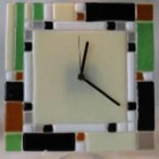 Витражные часы фото