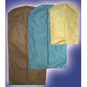 Чехол для одежды эконом 145см. фото