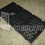 Полиуретановые сита с треугольной ячейкой фото