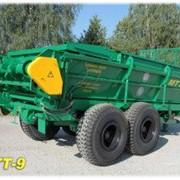 Машина для внесения твердых органических удобрений МТТ-9 фото
