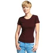 Женская футболка-стрейч StanSlimWomen 37W Тёмно-Шоколадный M/46 фото