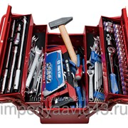 Набор инструментов универсальный, раскладной ящик, 88 предметов KING TONY 902-089MR01 фото