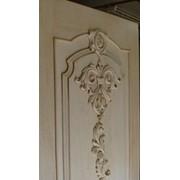 Двери дубовые с резьбой фото