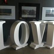 Большие буквы, love фото