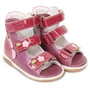 Обувь ортопедическая детская Лето Мемо (Польша) сандали с высоким берцем ВИККИ фото