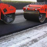 Реконструкция основания и покрытия автомобильных дорог 3,4 и 5 технической категории. фото