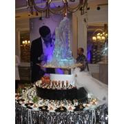 Ледяные фигуры для оформления свадеб заказать фото