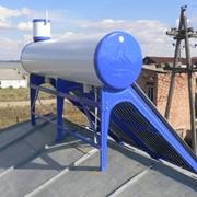Солнечный нагреватель воды 200 литров фото