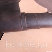 """Натуральная кожа """"Крейзи Хорс"""" для обуви и кожгалантереи коричневая арт. СК 1169 фото"""