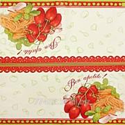 Салфетка для декупажа Любимые продукты Италии фото