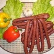 Колбаски сыровяленые из мяса лося фото