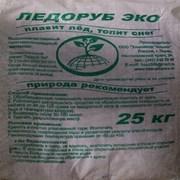"""Противогололедные реагенты """"ЛЕДОРУБ ЭКО"""" 25 кг. фото"""