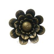 Изделие из металла цветок WH-6324 d 70, артикул 10637 фото