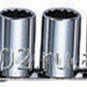 Набор торцевых 12-гранных головок 1/2DR Maxi-drive на держателе рельс 13 предметов 3/8--1-1/8 SAE., код товара: 49079, артикул: S05H4213S фото
