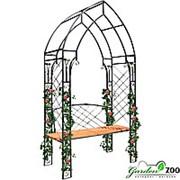 Арка металлическая садовая 863-07R фото