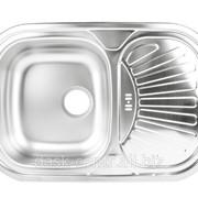Мойка DONAU DE-103 овальная (48*73см) гладкая фото