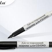 Маркер д/CD 2-х сторонний, черный TZ фото