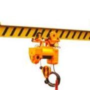 Кран мостовой электрический опорный однобалочный фото