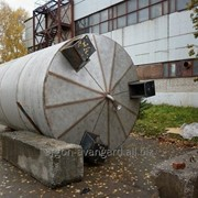 Резервуар на 10 м3 из нержавеющей стали фото