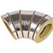 Изоляция трубопроводов кашированными минераловатными отводами 178/25 мм LINEWOOL фото