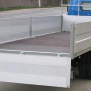 Изготовление и монтаж алюминиевых бортов фургонов грузовых автомобилей фото