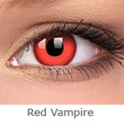 Линзы Crazy INTEROJO Adria Crazy Red Vampire фото