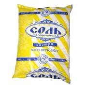 """Соль пищевая йодированная """"Экстра"""" фото"""