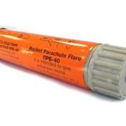 Ракета бедствия парашютная ПРБ-40 красного огня фото