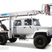 Автогидроподъемник АГП-22Т на шасси ГАЗ-33081 (стрела вперед) фото