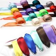 Атласные ленты-шнурки для бумажных пакетов фото