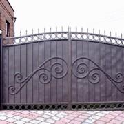 Петли для ворот металлические фото