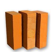 Кирпич керамический рядовой полнотелый фото
