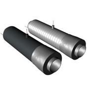 Концевой элемент трубопровода с кабелем вывода в ППУ изоляции фото