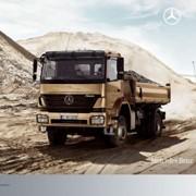 Самосвальные шасси Mercedes-Benz Axor C фото