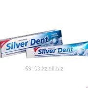 Зуб.паста 107 203 silver dent экстра отбеливание с лимоном 100г/50 фото