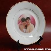 Тарелка с фото фото