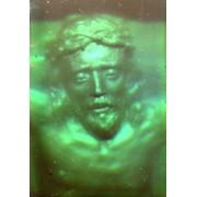 Иисус на кресте - левая створка фото