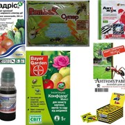 Средства защиты растений, фунгициды, инсектециды, стимуляторы роста, минеральные удобрения. фото