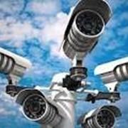 Установка систем видеонаблюдения. фото