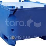 Изотермический контейнер 600 литров с крышкой (1200х1000х750 мм) Арт.RIC-600 фото