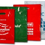 Пакеты полиэтиленовые, Пакеты полиэтиленовые с логотипом фото